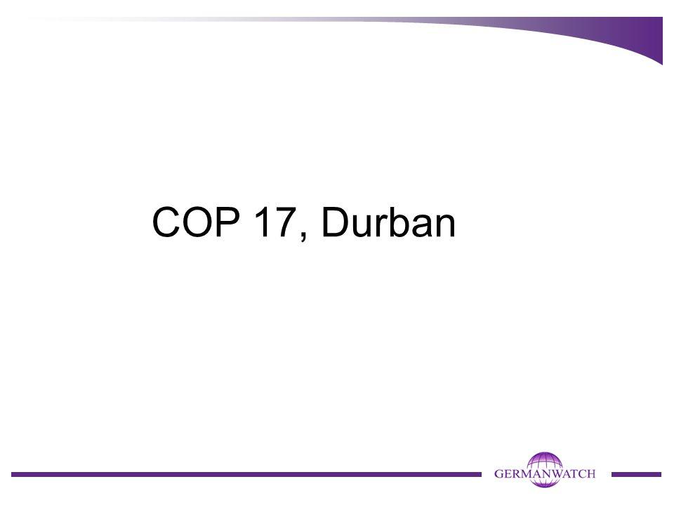 COP 17, Durban