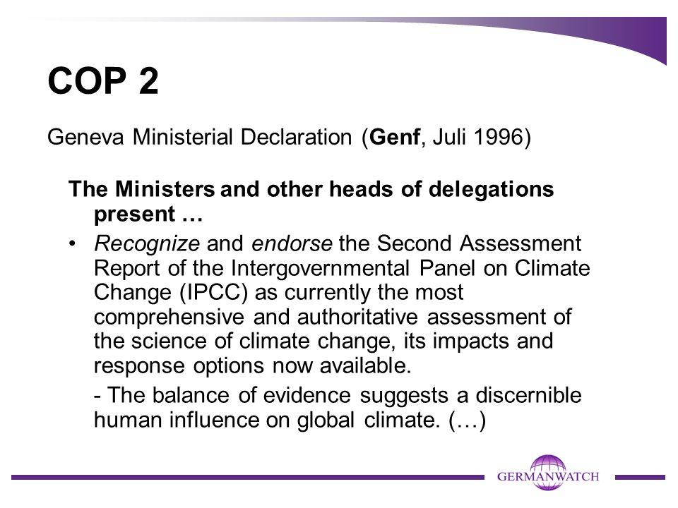 Extract of BAP (Emphasis by MT) The Conference of the Parties (...) 1.