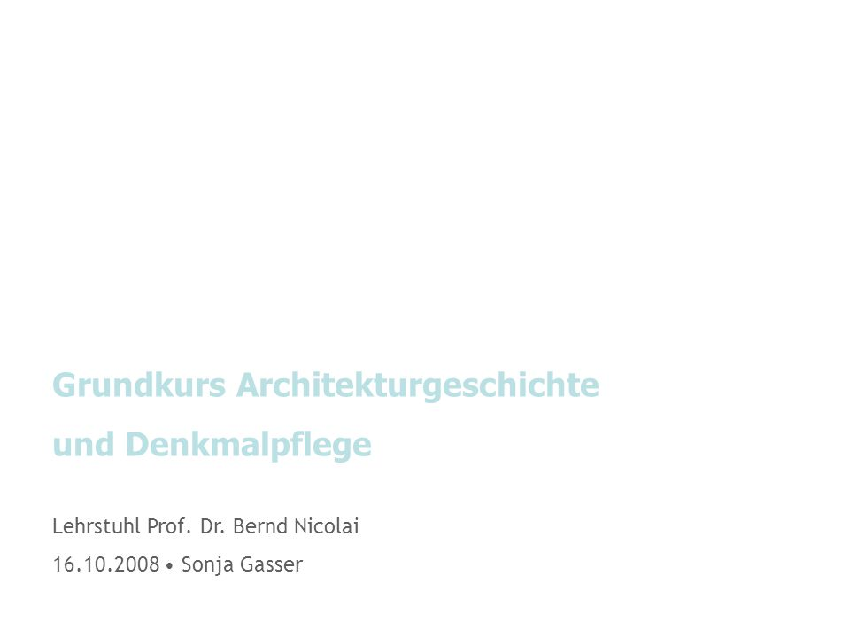 Allgemeines|Studienplan Kunstgeschichte Major