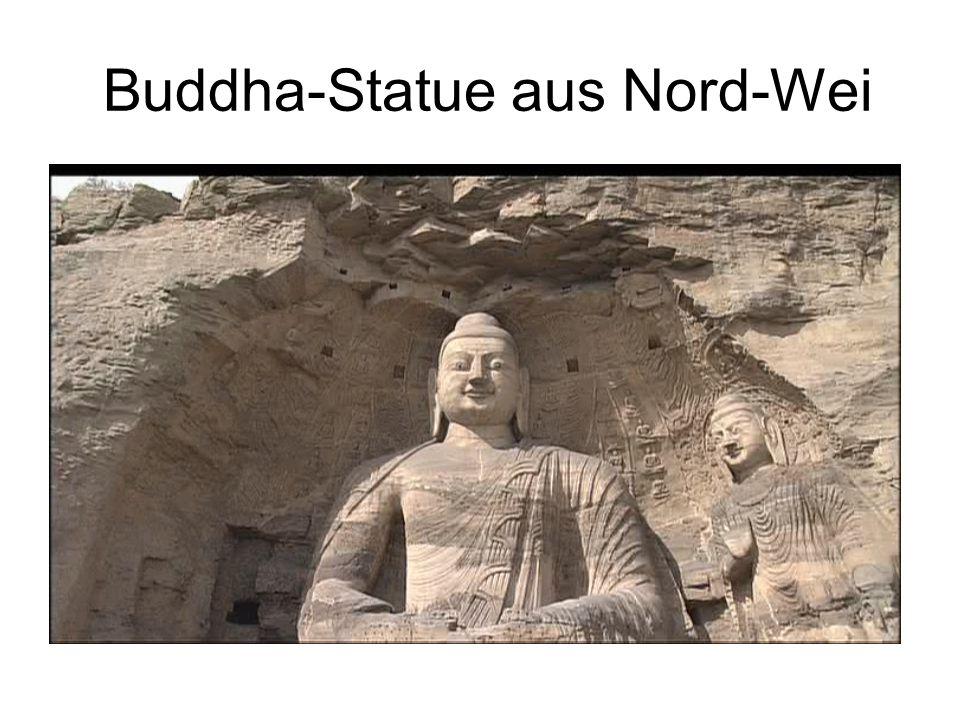 Buddha-Statue aus Nord-Wei