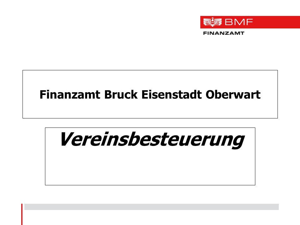 Finanzamt Bruck Eisenstadt Oberwart Vereinsbesteuerung