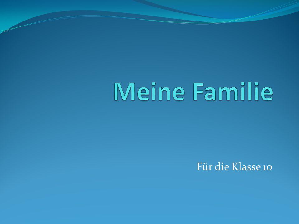 """""""Familie Was gehört dazu? ….."""