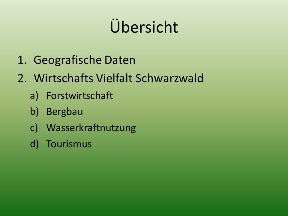 Geografische Daten Bundesland: Baden Württemberg Länge: ca. 160km Breite: ca. 40 – 60km