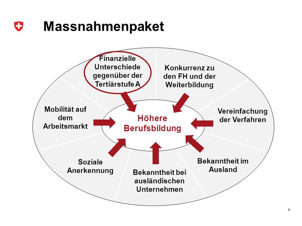 BERUFSBILDUNGPLUS.CH 2015-2019 Ziele  Positionieren: Dachmarke BERUFSBILDUNGPLUS.CH als Symbol für die Berufsbildung als Ganzes stärken.
