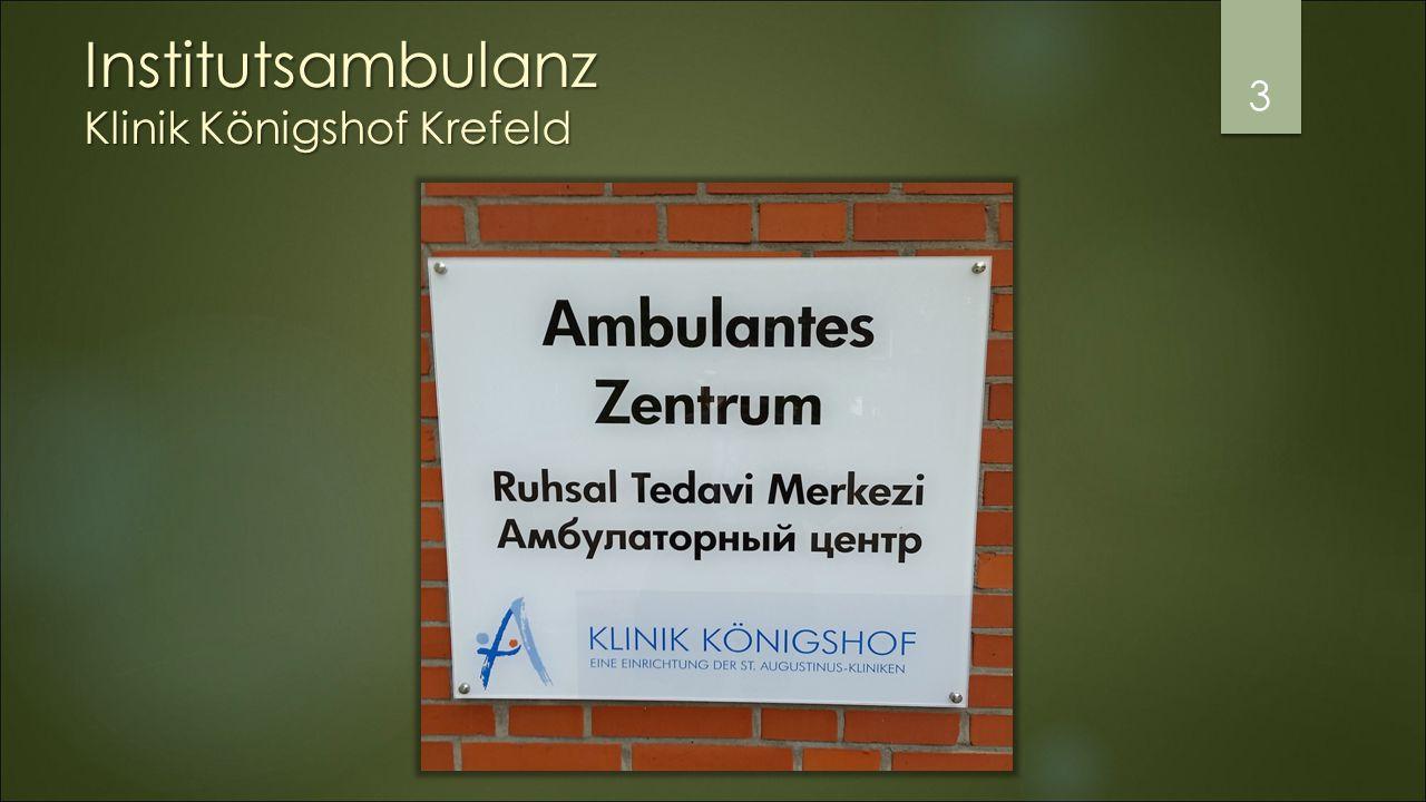 Institutsambulanz Klinik Königshof Krefeld 3