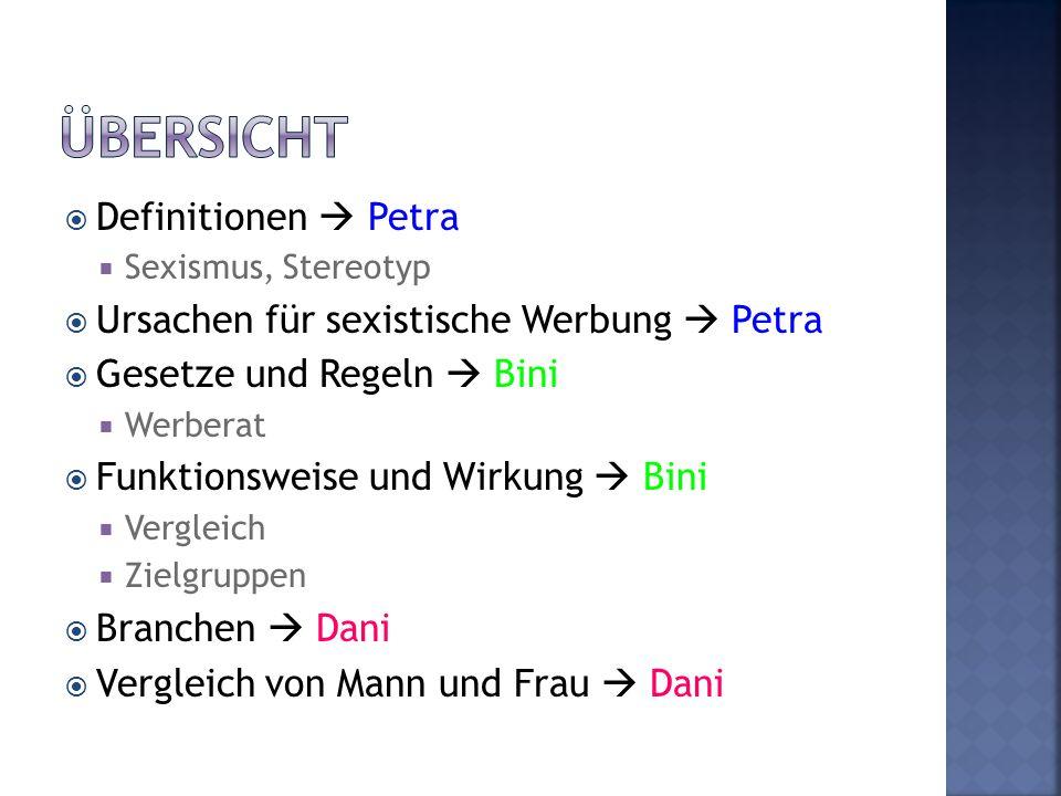  Unterrichtsprinzip Erziehung zur Gleichstellung von Frauen und Männern, Seite 35/36; bm:bwk  http://www.werberat.at/ http://www.werberat.at/  http://aktive.verdi.de/kampagnen_organisie ren/vorfragen/was_ist_eine_kampagne http://aktive.verdi.de/kampagnen_organisie ren/vorfragen/was_ist_eine_kampagne  http://www.antisexismus.de/ http://www.antisexismus.de/