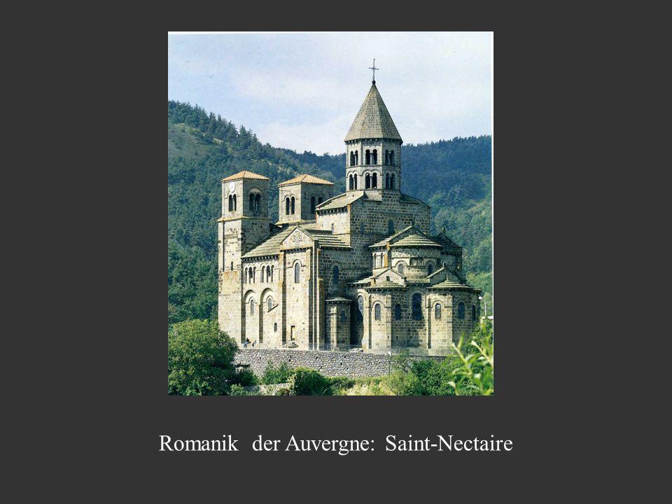 Romanik der Auvergne: Saint-Nectaire
