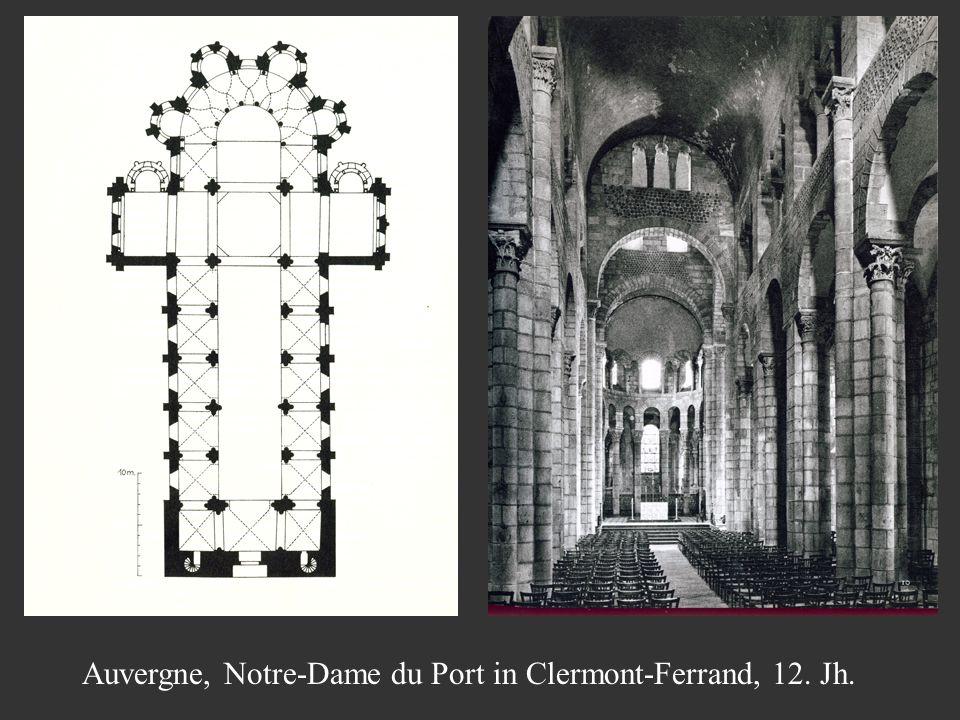 Auvergne, Notre-Dame du Port in Clermont-Ferrand, 12. Jh.