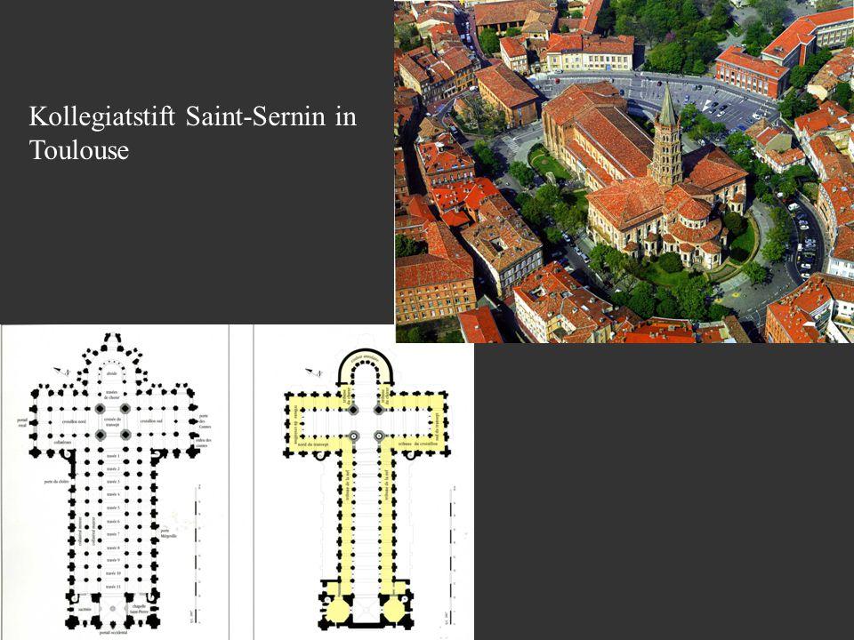 Kollegiatstift Saint-Sernin in Toulouse