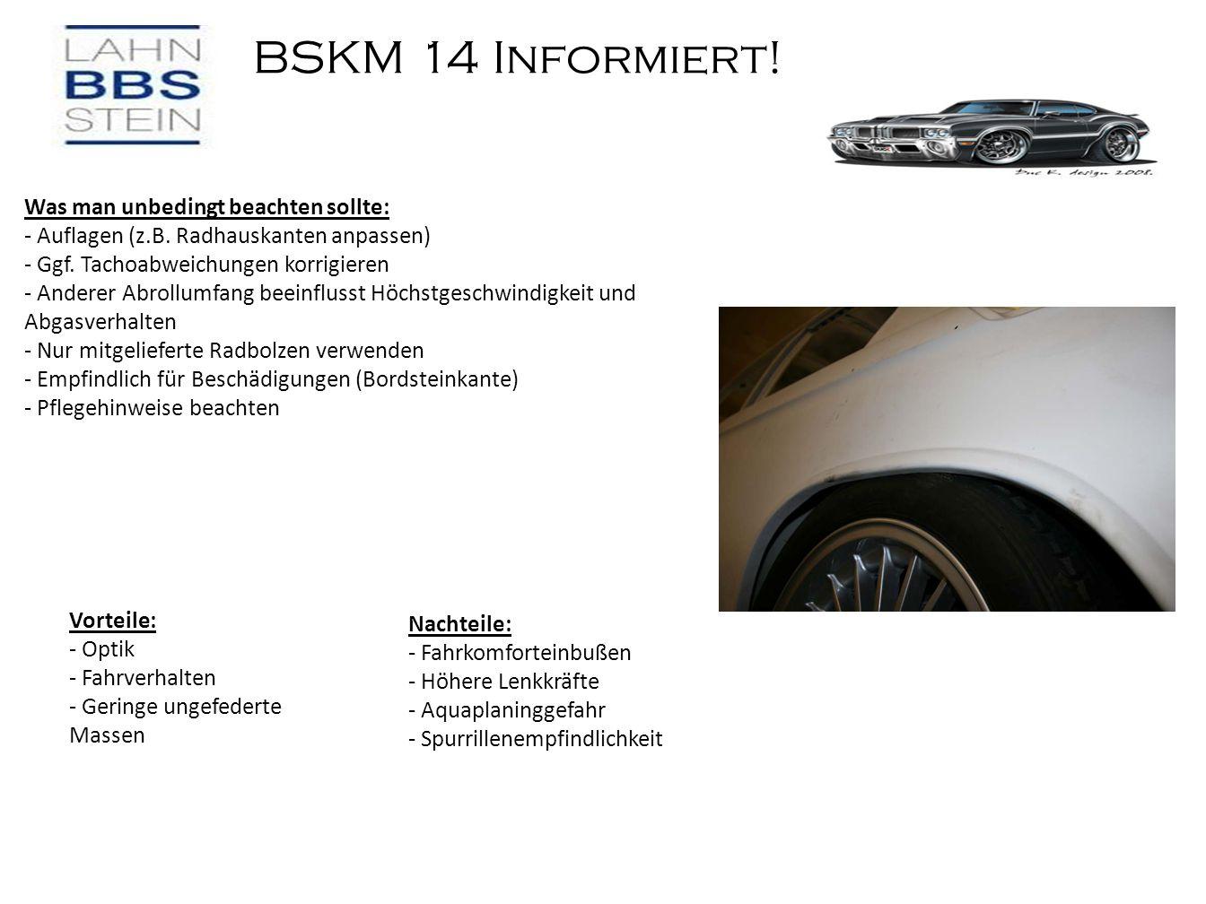 BSKM 14 Informiert.