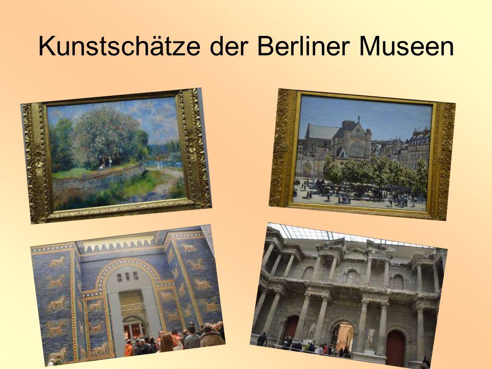 Kunstschätze der Berliner Museen
