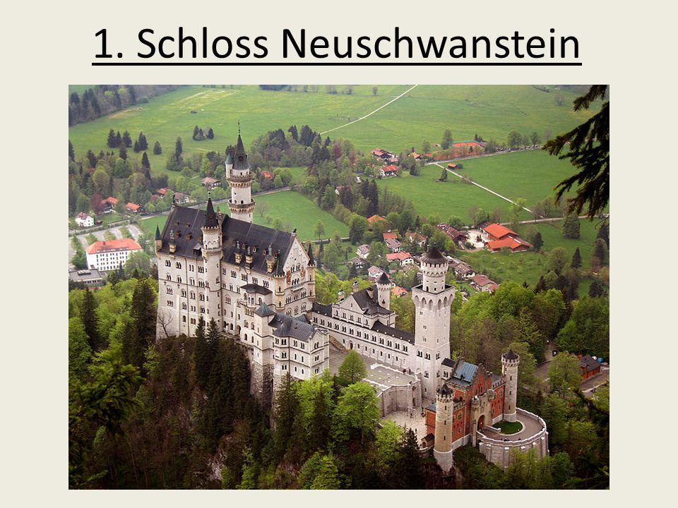 1. Schloss Neuschwanstein