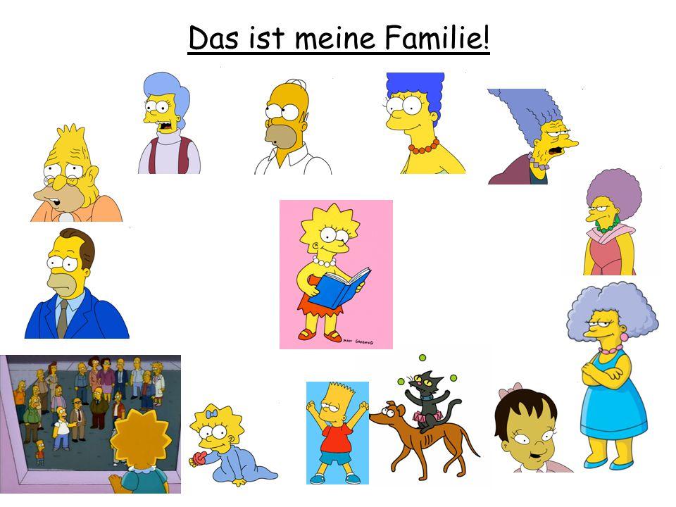 Das ist meine Familie!