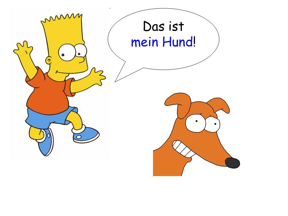 Das ist mein Hund!