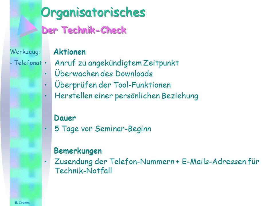 Paararbeit Gegenseitiges Vorstellen Werkzeug: - Chat - Forum Aktionen Versendung/Vorstellung Bemerkung B.