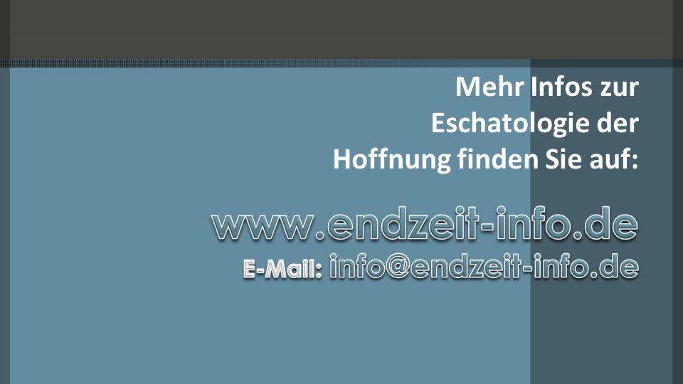 Mehr Infos zur Eschatologie der Hoffnung finden Sie auf: