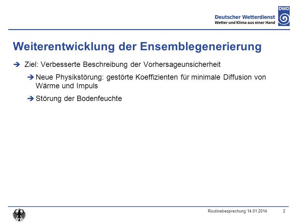 TOT_PREC Routinebesprechung 14.01.201423