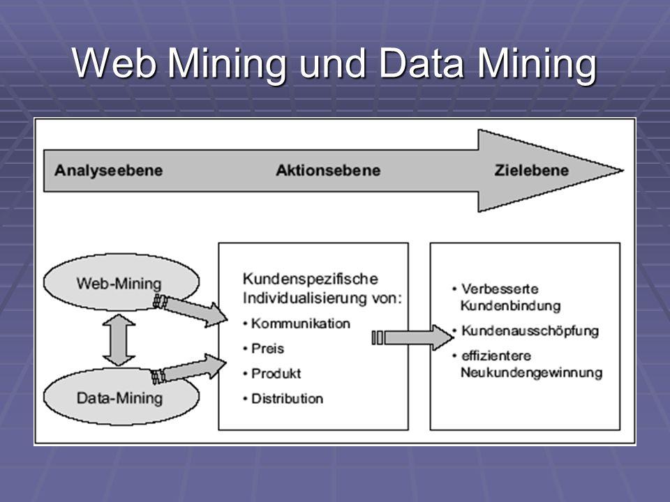 Web Mining und Data Mining