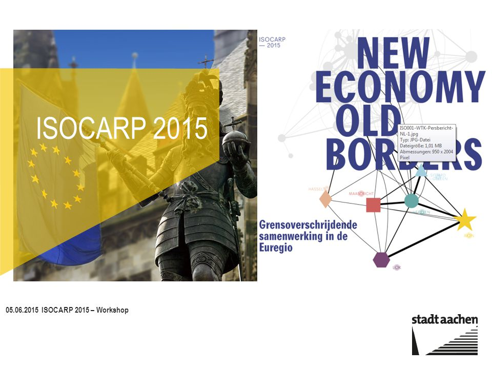 05.06.2015 ISOCARP 2015 – Workshop Titelfolie 1 ISOCARP 2015