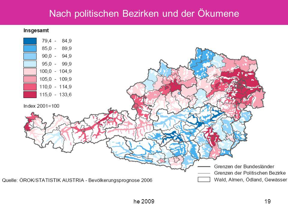 he 200919 Nach politischen Bezirken und der Ökumene