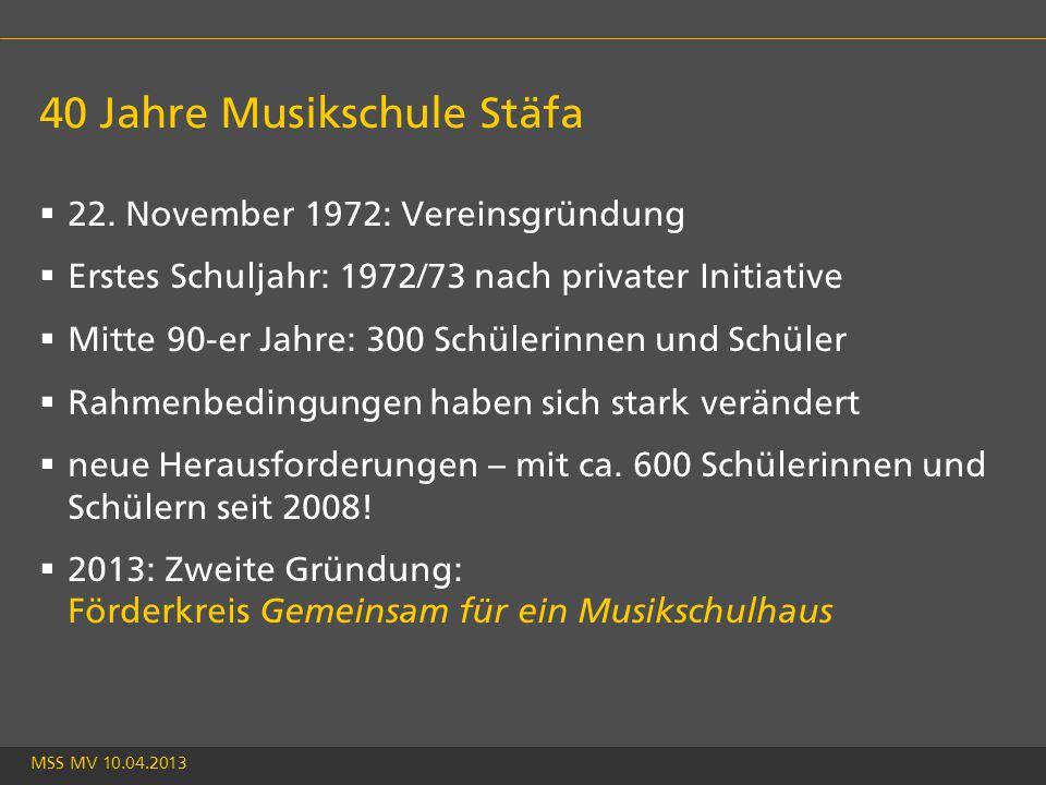 MSS MV 10.04.2013 40 Jahre Musikschule Stäfa  22.