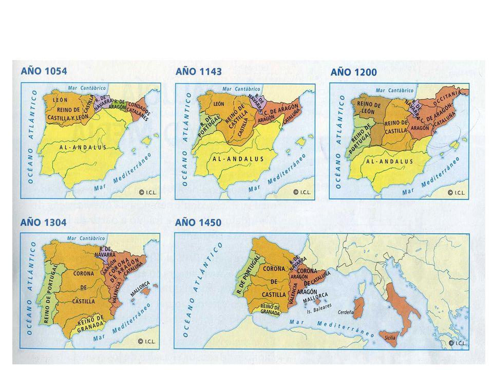 WICHTIGE ETAPPEN DER RECONQUISTA 722 wird heute in Spanien als Beginn der Reconquista betrachtet : Fürst Pelayo kann in der Schlacht von Covadonga die vordringenden Araber besiegen und so die Unabhängigkeit seines asturischen Fürstentums bewahren.