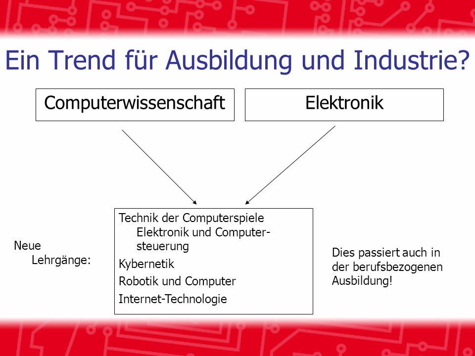 Ein Trend für Ausbildung und Industrie.
