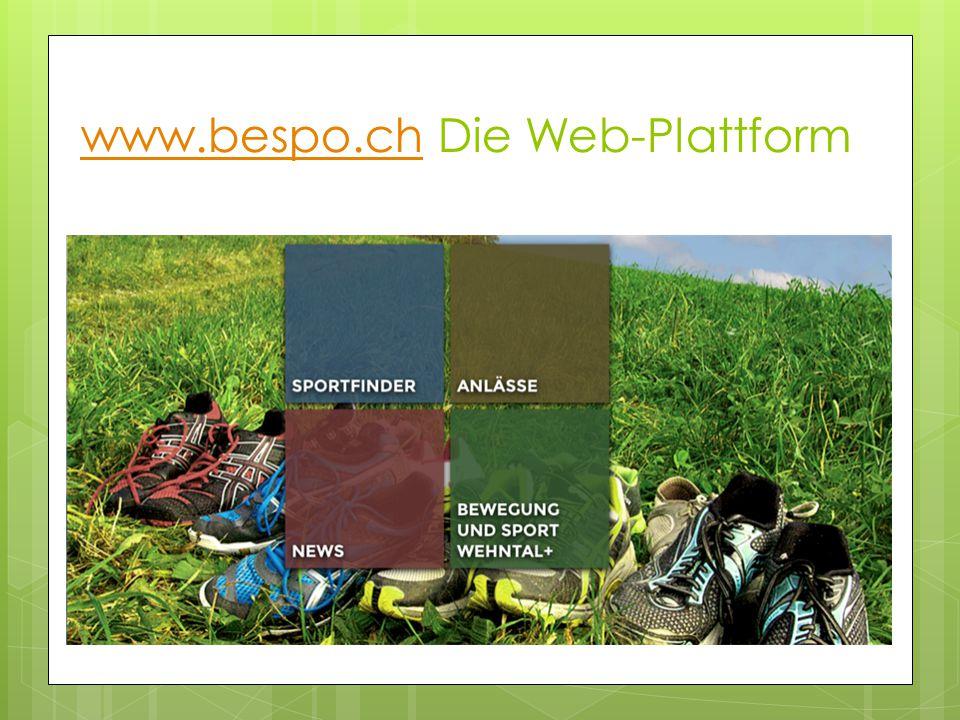 www.bespo.chwww.bespo.ch Die Web-Plattform