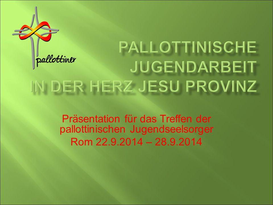 Präsentation für das Treffen der pallottinischen Jugendseelsorger Rom 22.9.2014 – 28.9.2014