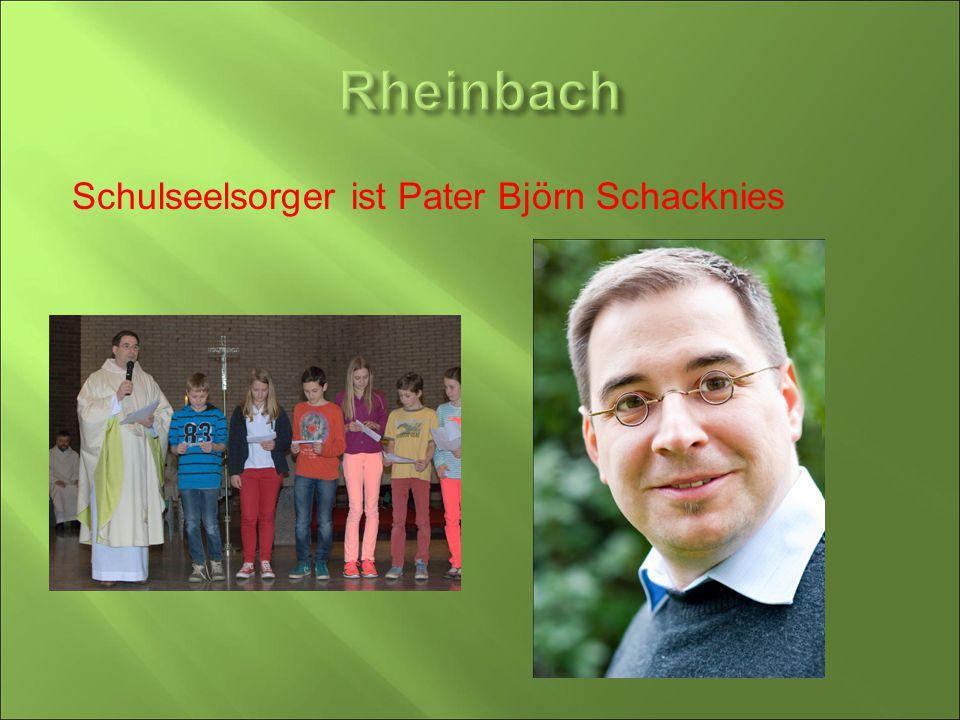 Schulseelsorger ist Pater Björn Schacknies