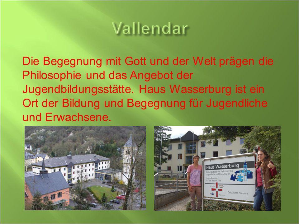 Die Begegnung mit Gott und der Welt prägen die Philosophie und das Angebot der Jugendbildungsstätte. Haus Wasserburg ist ein Ort der Bildung und Begeg