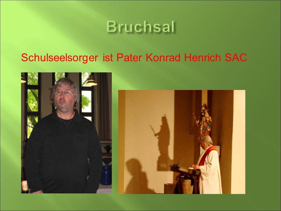 Schulseelsorger ist Pater Konrad Henrich SAC