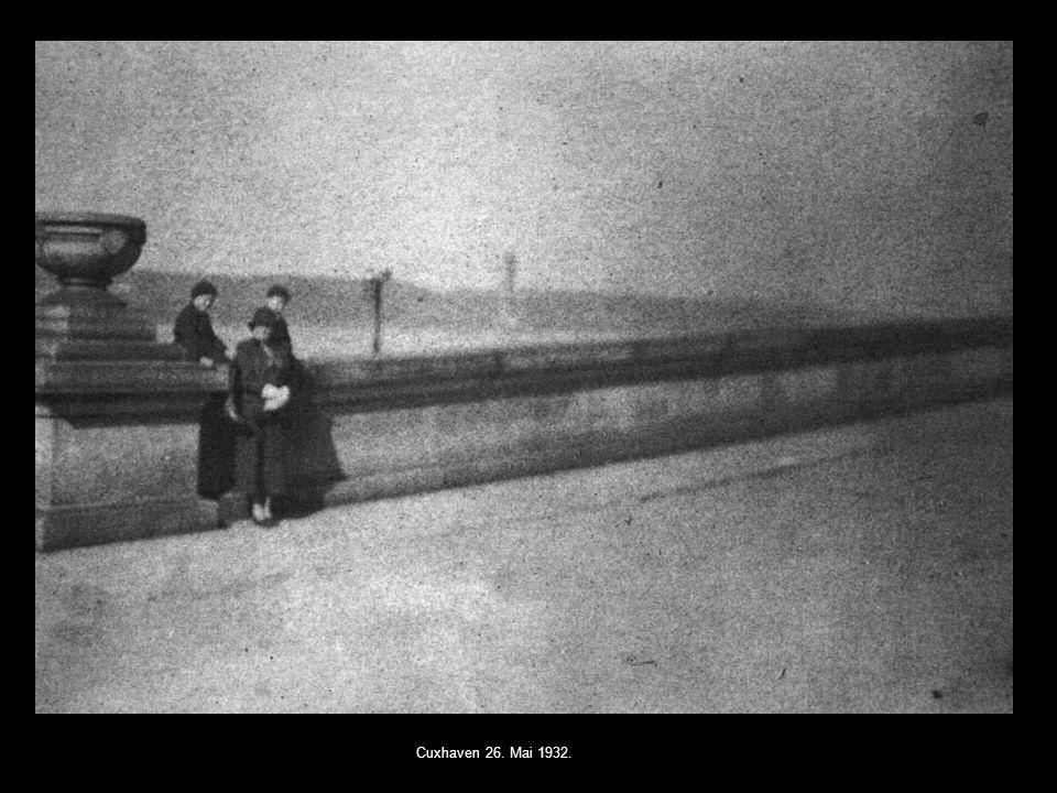 Cuxhaven 26. Mai 1932.