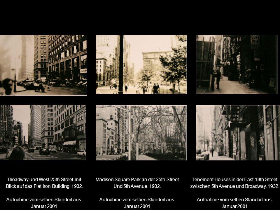Broadway und West 25th Street mit Blick auf das Flat Iron Building.