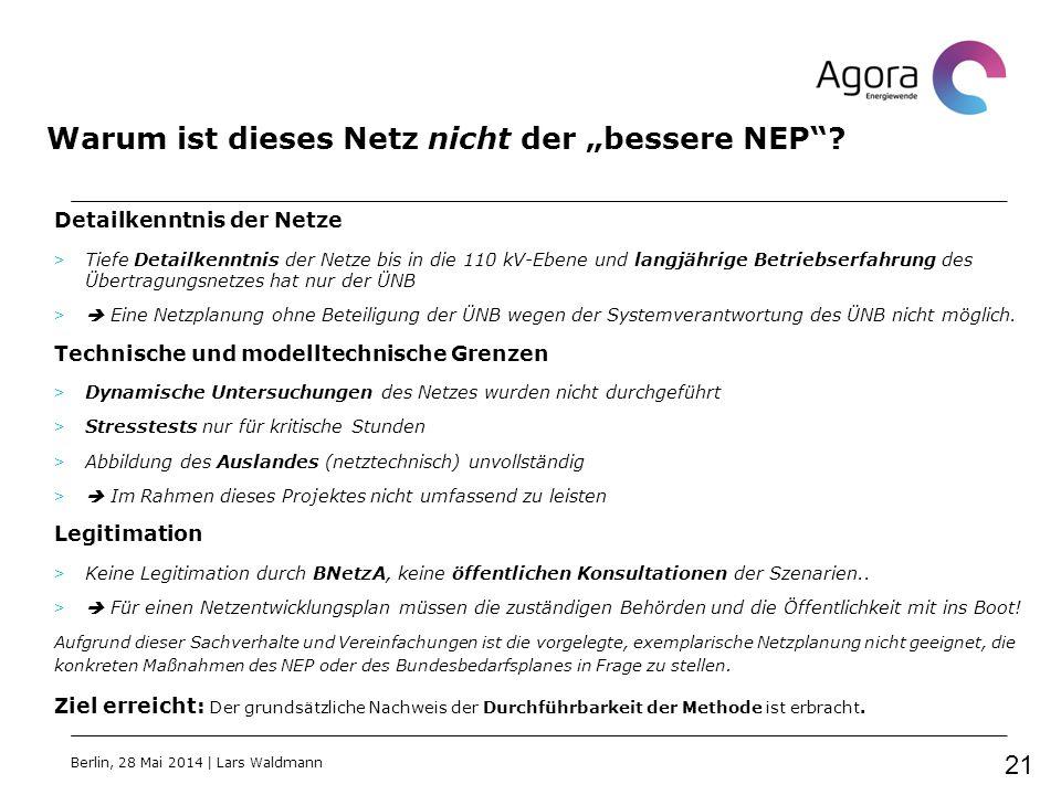 """Warum ist dieses Netz nicht der """"bessere NEP""""? Detailkenntnis der Netze > Tiefe Detailkenntnis der Netze bis in die 110 kV-Ebene und langjährige Betri"""