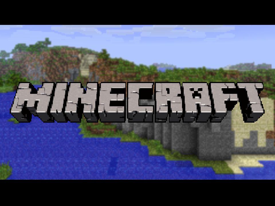 Gliederung Was ist Minecraft.Wie ist die Welt von Minecraft aufgebaut.