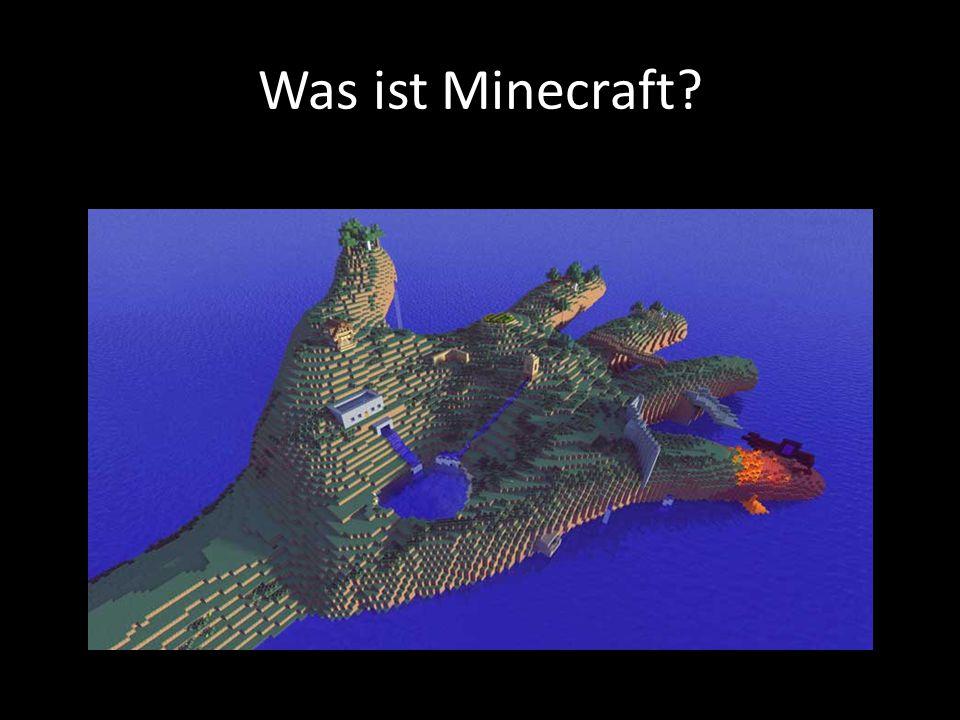 Die Welt von Minecraft