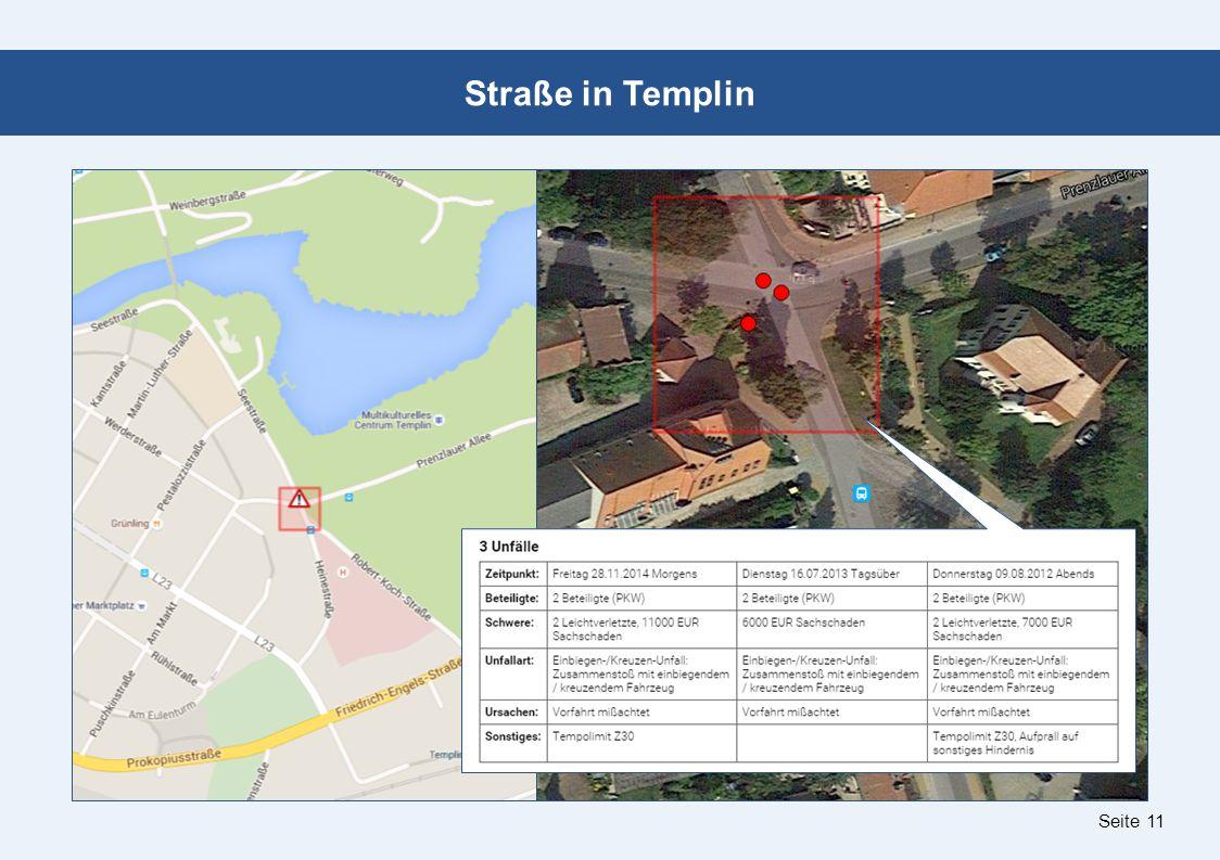 Seite 11 Straße in Templin