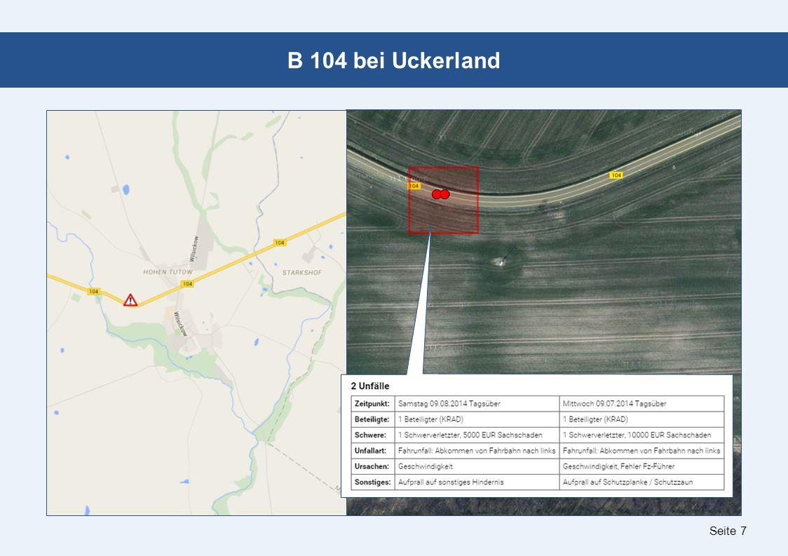 Seite 7 B 104 bei Uckerland
