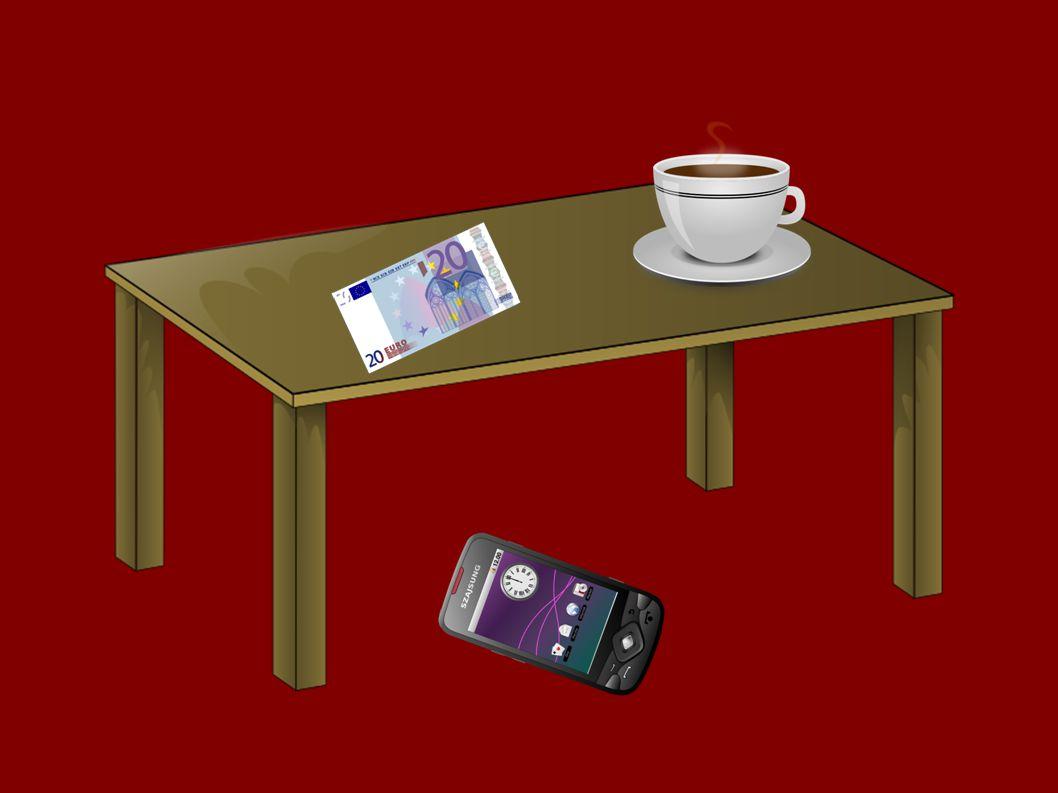 Ist das Smartphone hinter dem Kaffee? Ist das Smartphone hinter dem Kaffee?