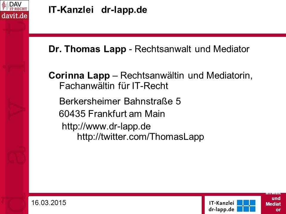 IT-Kanzlei dr-lapp.de Dr.