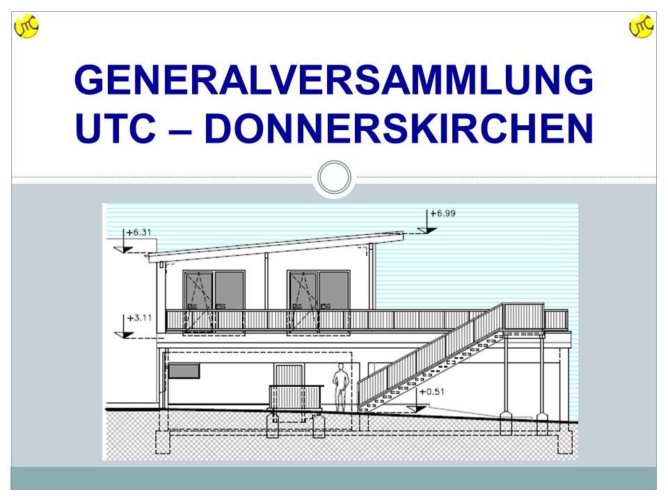 GENERALVERSAMMLUNG UTC – DONNERSKIRCHEN