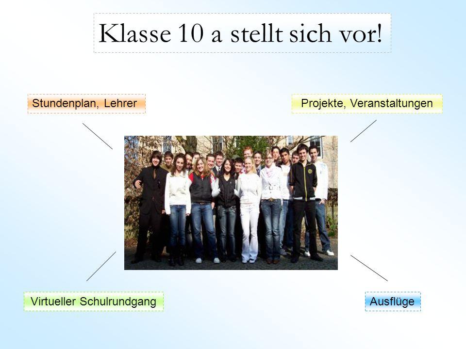 Hauptseite Stundenplan MontagDienstagMittwochDonnerstagFreitag 1.