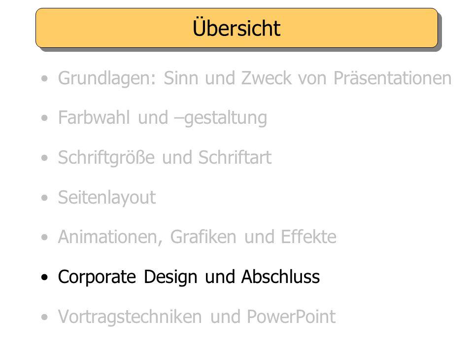 Nutzen Sie die Vorteile von PowerPoint: - Visualisierungsmöglichkeiten - Gestaffelter Seitenaufbau. Effekte sparsam einsetzen, keine Show! Grafiken un