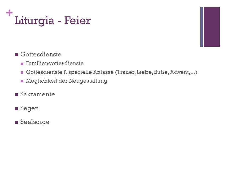 + Liturgia - Feier Gottesdienste Familiengottesdienste Gottesdienste f.