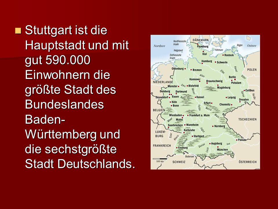 Wirtschaft Ungefähr 150.000 Firmen sind in der Stuttgart Region.