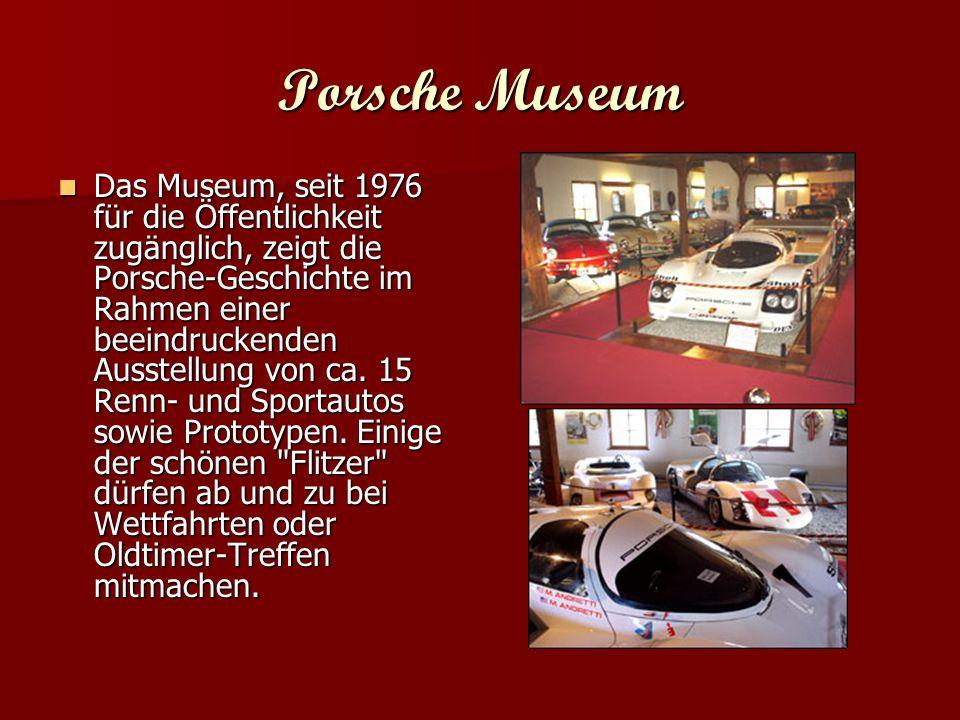 Mercedes-Benz Museum Mercedes-Benz Museum Über 110 Jahre innovative Automobilgeschichte ist hier auf drei Etagen ausgestellt.