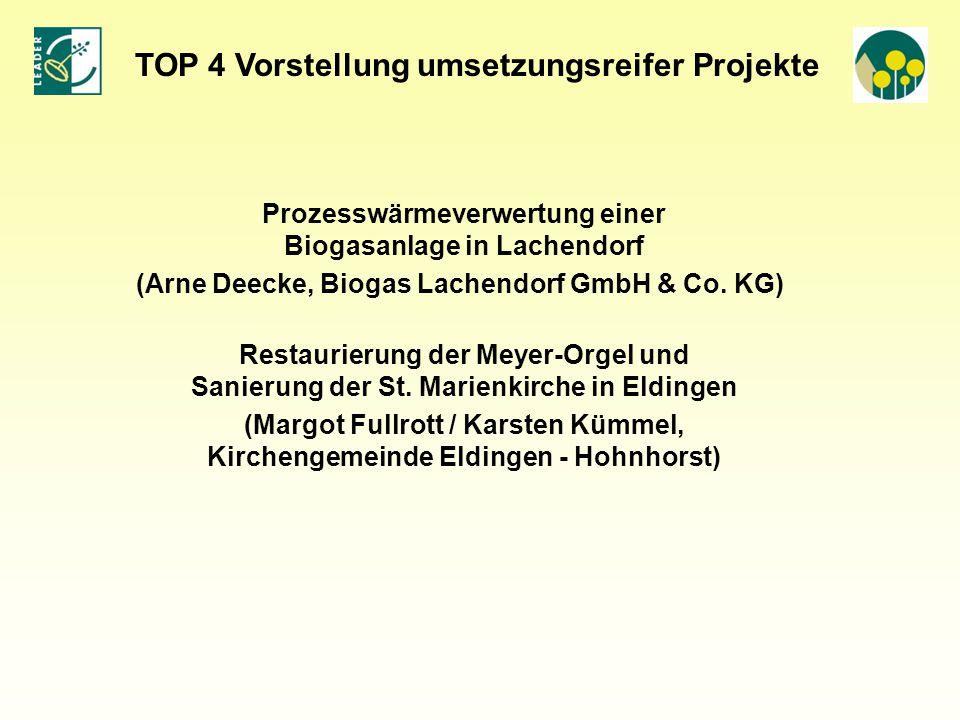 Prozesswärmeverwertung einer Biogasanlage in Lachendorf (Arne Deecke, Biogas Lachendorf GmbH & Co.