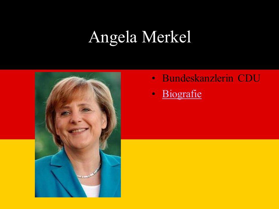 Angela Merkel Bundeskanzlerin CDU Biografie