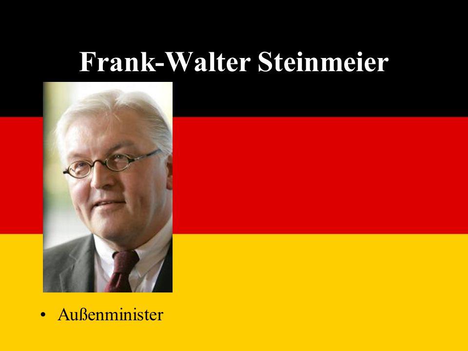 Frank-Walter Steinmeier Außenminister